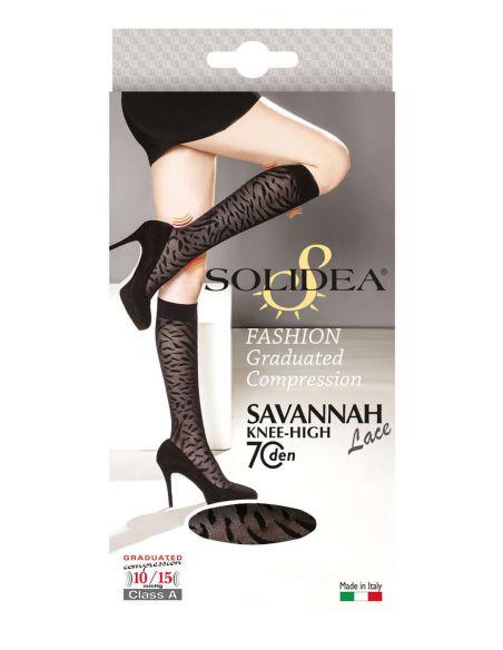 Savannah Lace 70 Knee-High